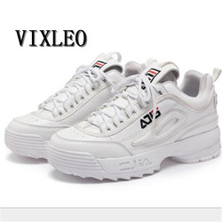 VIXLEO New Women causal shoes Disruptor II 2 Light white black Thick bottom increased womenn Low Outdoor shoes szie 35-39