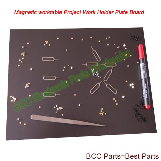 Magnetic worktable Project Work Holder Plate Board Mat Repairing tool for iPhone Samsung HTC Sony LG