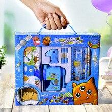 Креативные канцелярские принадлежности Подарочная коробка набор школьников детей детский сад Обучающие принадлежности большая подарочна...