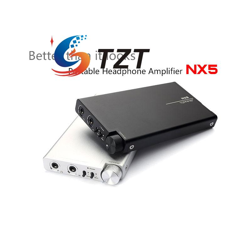 TOPPING NX5 Portable Amplifier Headphone AMP AD8610 BUF634 Chip HIFI Digital Stere Audio