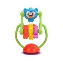 лучшая цена Baby Rattles Toys Three-color Model Rotating Ferris Wheel Stroller Dining Chair Educational Toys 0-12 Months Teething safe