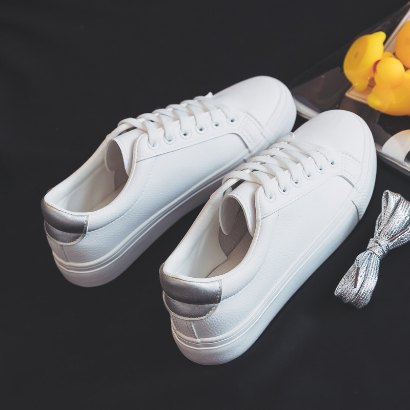 Ultimate SaleVulcanize Shoes Sneakers Casual Spring Solid-Color New Classic PU White