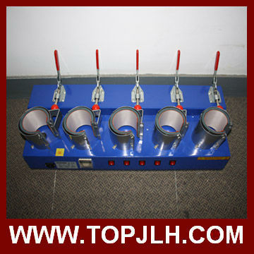 5 heaters sublimation transfer machine