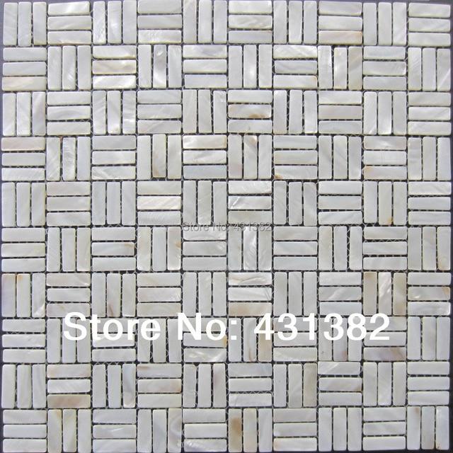 Weiß Perlmutt U Bahn!! Shell Mosaik Fliesen, Perlmutt Mosaik Fliesen, Küche