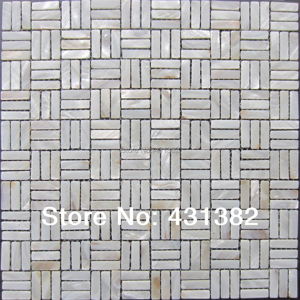 White mother pearl subway shell mosaic tiles mother of pearl white mother pearl subway shell mosaic tiles mother of pearl mosaic tiles kitchen backsplash tiles bathroom mosaic tile in wall stickers from home dailygadgetfo Choice Image