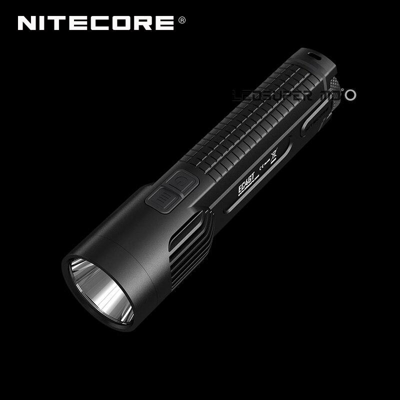 New Arrival Explorer Series Nitecore EC4GT CREE XP-L HI V3 LED Handheld Searchlight Flashlight with 475 M Far Throw new nitecore r25 tactical flashlight 800lm xp l hi v3 led torch unmatched performance smart charging dock rechargeable battery
