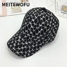 все цены на New Design lattice men women Baseball cap casual outdoor visor couple wild caps tide Hip Hop Casual hats  Spring Summer sun hat