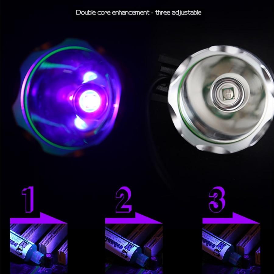 MECHANIC UV Curing Adhesive Green Oil Heating Lamp Multipurpose Mainboard CHIP Maintenance BGA Violet LED