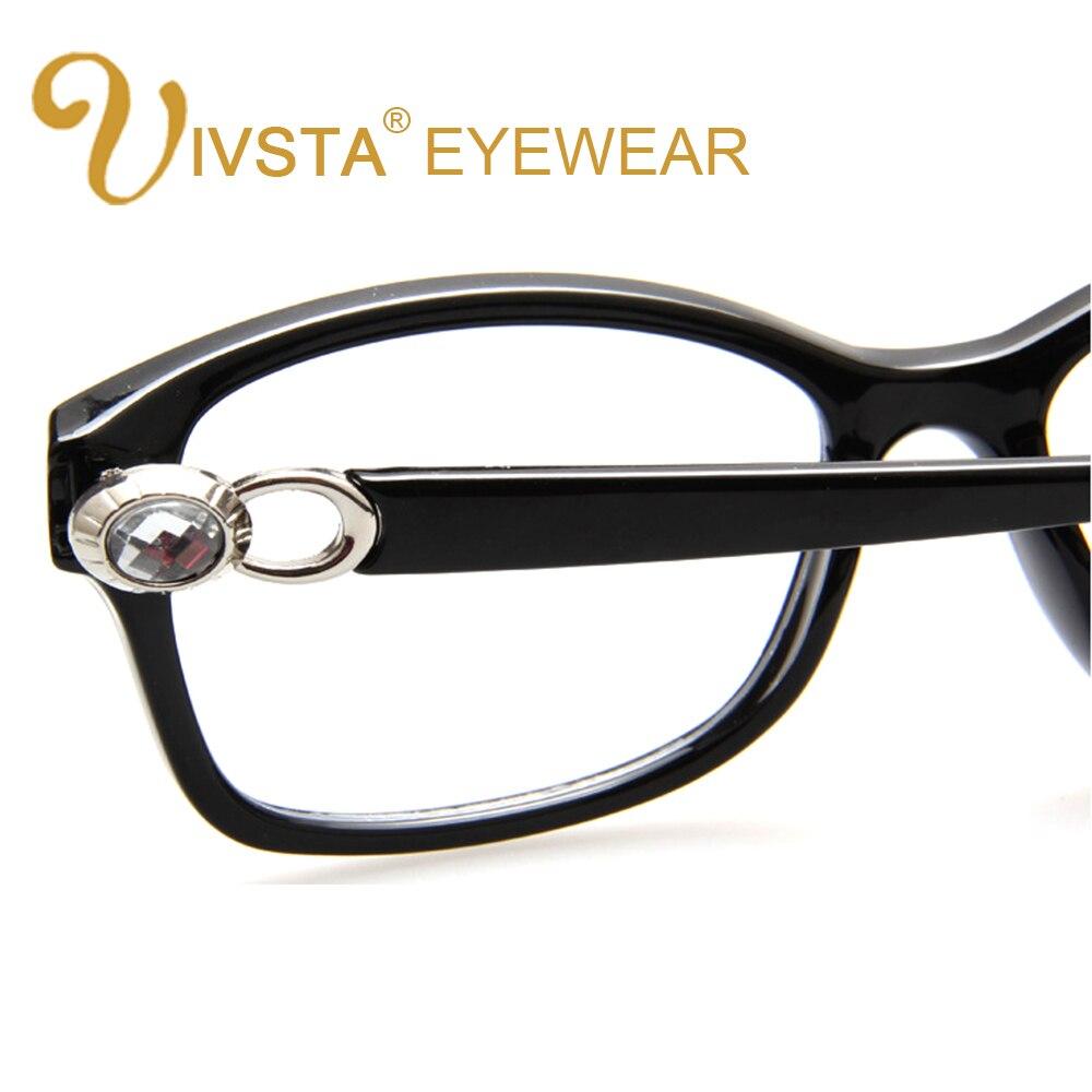 IVSTA Strass Brille Diamant Dekoration Mode Frauen Brillen Klare ...