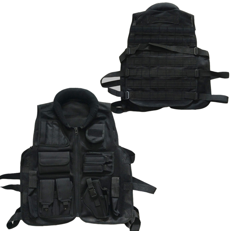 2018 Colete tatico loja artigos militares airsoft tactical vest Leapers 099 Law Enforcement molle Tactical Vest SWAT schutzweste colete tatico balistico swatt paintball airsoft 15%off cs airsoft game tactical military combat traning protective security vest