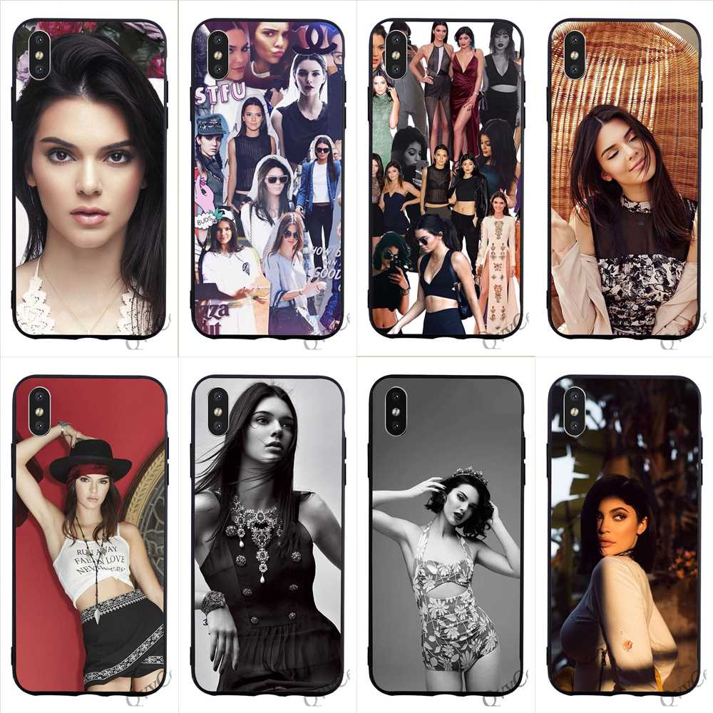 For Iphone X 4 4s 5 5s 5c Se 6 6s 7 8 Plus Samsung Galaxy J1 J3 J5 J7 A3 A5 2016 2017 Kendall Jenner Usa Sexy Girl Phone Case To Win Warm Praise From Customers Half-wrapped Case