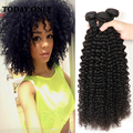 Peruvian Kinky Curly Hair 3 Bundles  Virgin Hair Hot Sale Virgin Hair Bundles Kinky Curly Weaving Hair Top Selling Product
