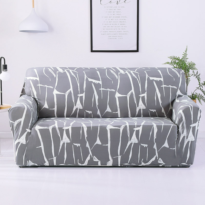 Slipcovers Sofa սրբիչ Կահույքի պաշտպանիչ Բազմոցային ձգվող խիտ ծածկույթով ամուր փաթեթավորեք սայթաքուն դիմացկուն բազմոցի ծածկոցներ հյուրասենյակի համար 1 հատ