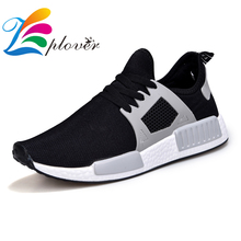 Купить с кэшбэком Zplover Men Casual Shoes 2017 New Spring Summer Breathable Shoes Men Brand Air Mesh Men Shoes Casual Zapatos Hombre Men Trainers