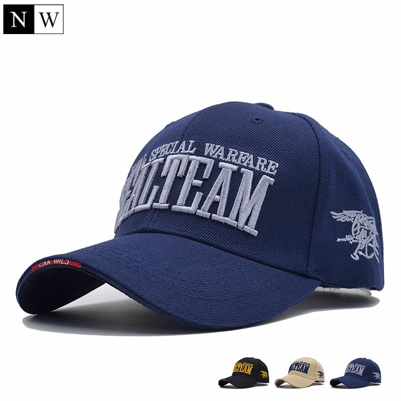 [NORTHWOOD] 2018 New Arrivels US Navy Seal Team Tactical Cap Mens Army Baseball Cap Brand Gorras Adjustable Bone Snapback Hat