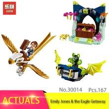 LEPIN 30014 230 pcs Série Elfos A Emboscada Naida & A Tartaruga de Água Modelo Bloco de Construção de Tijolos Brinquedos Para As Crianças presente 41190
