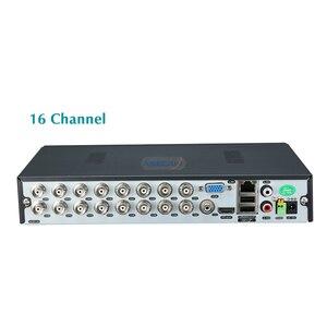 Image 3 - סופר AHD DVR 1080P וידאו מקליט אנלוגי BNC טלוויזיה במעגל סגור מצלמה עם מעורר אודיו Onvif רשת NVR מעקב וידאו מקליט