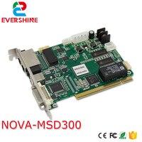 Precio Tarjeta de envío de pantalla LED Nova M3 MSD300, pantalla de vídeo LED a todo Color sincrónica Novastar MSD300 Tarjeta de envío