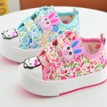 Sapatas de bebê Para Menina Flor Sapatos de Sola Sapatos Infantis Macios Sapatos Da Criança Confortável Bebê Frete Grátis Walker