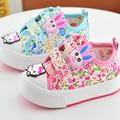 Zapatos de bebé Para La Muchacha Flor Infant Toddler Shoes Confortables Zapatos de Suela Suave Zapatos de Bebé Libre Del envío Walker