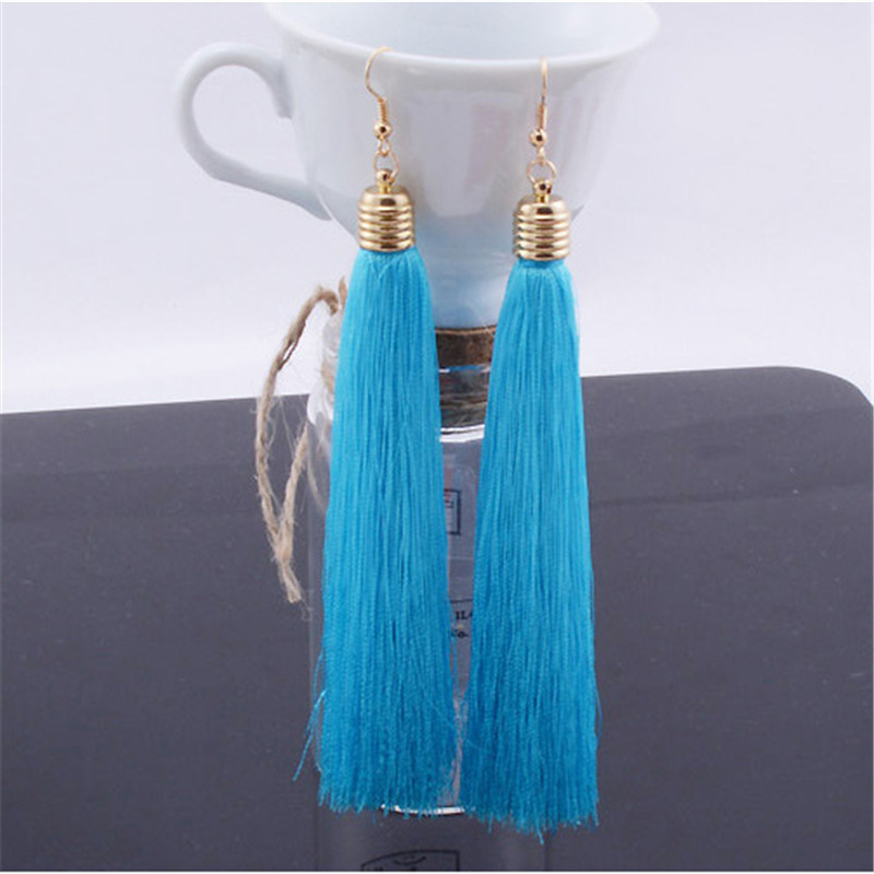 Free Shipping Emperament Exaggerated Vintage Original Tassel Earrings For Women Online Shopping India