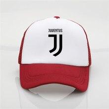 Moda impressão cap net chapéu Juventus boné de beisebol Homens e mulheres  Cap Tendência Nova Juventude Coringa de Verão chapéu d. 760f03159a4