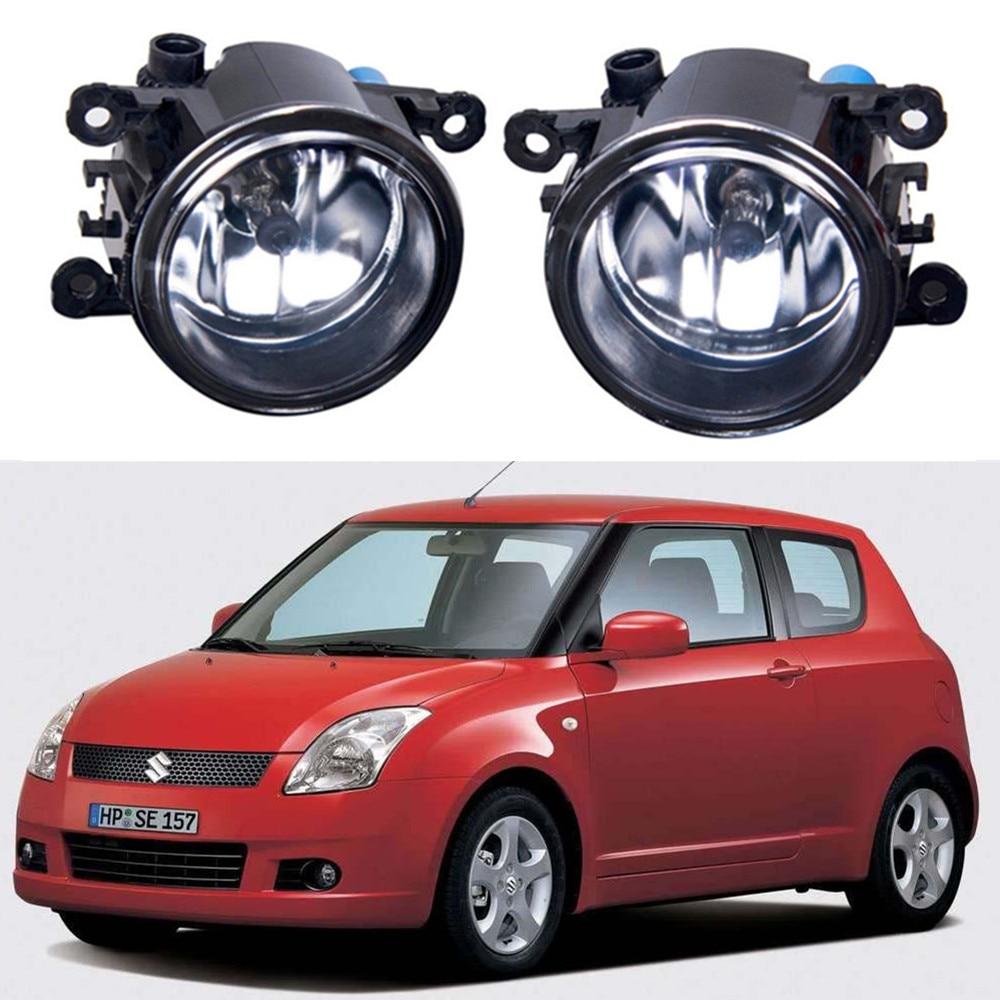 For Suzuki SWIFT III MZ EZ Hatchback  2005-2015 Car styling Fog lights halogen lamps 1set стоимость