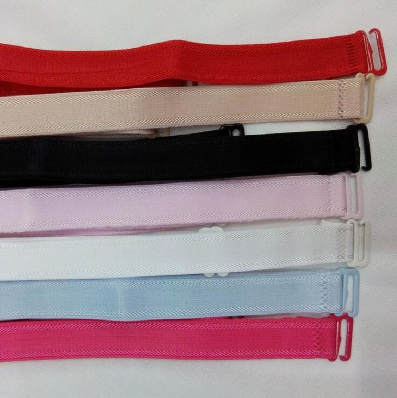 1.5cm ADJUSTABLE BRA BELT Ladies fashion Sexy Style SHOULDER STRAP clip simple Good Quality non slip design solid color