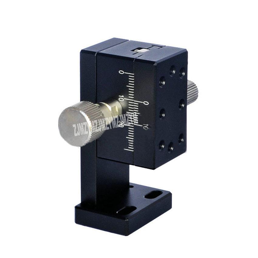Dovetail Slot Z Axis LWZ2542 Precision Fine-tuning Manual Displacement Gear Rack Drive Sliding Table 24.5N (2.5kgf) (25*42mm)Dovetail Slot Z Axis LWZ2542 Precision Fine-tuning Manual Displacement Gear Rack Drive Sliding Table 24.5N (2.5kgf) (25*42mm)