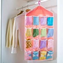 ZW040 Wardrobe briefs socks classification bag hanging 80*42cm free shipping