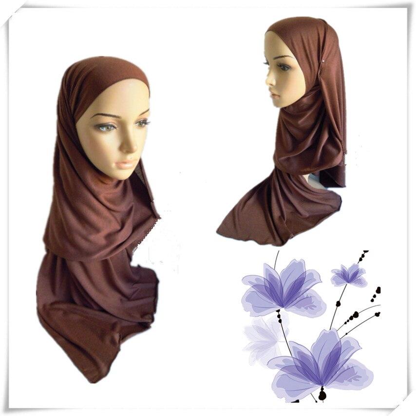 ∞1933 del color del caramelo bufanda del hijab DE LA MUJER single ...