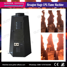DMX LPG flame projector Stage effect show spray fire machine