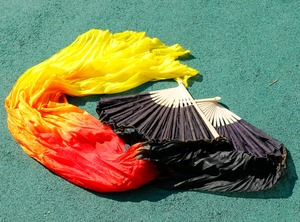 Image 5 - 2019 kobiet wysokiej jakości Pasang perut 100% sutra FAN kerudung merah muda dla mężczyzn biru czarny + czerwony + żółty