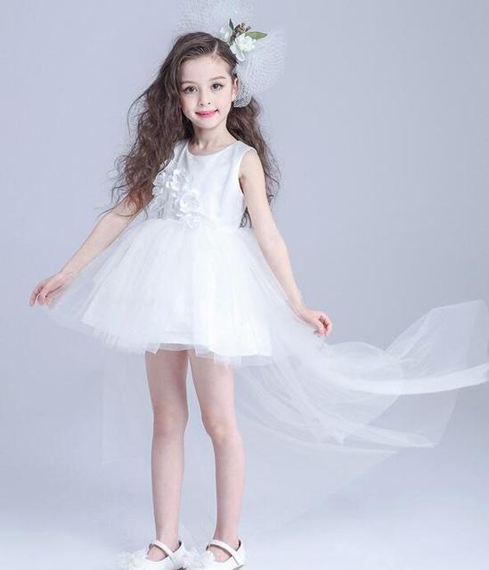 c84b548c2 Kids Dresses For Girls 3 14 Years 2017 New Design Flower Girl ...