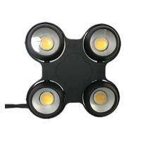 Professional stage ip65 outdoor 4 eyes led cob blinder wash disco light dmx led par dj lighting 4x100W strobe effect for outdoor
