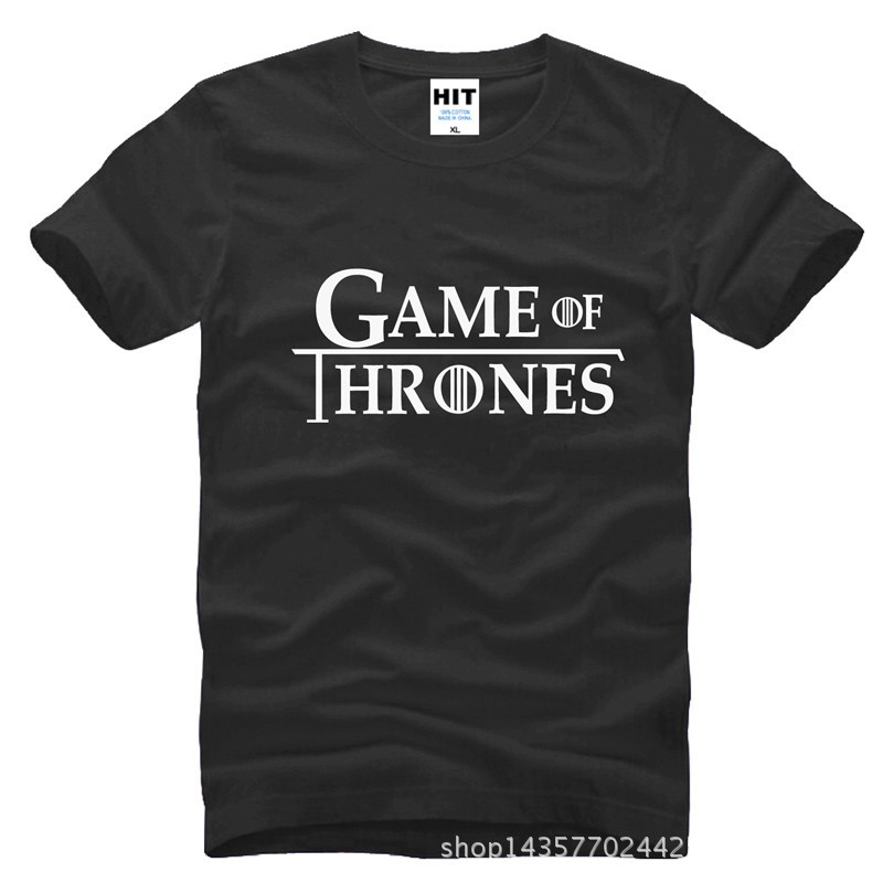 US Drama Game Of Thrones A Song Of Ice And Fire Printed Mens Men T Shirt