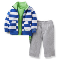 CLL2-011, Original, Baby Boys 2-Piece Set, Full Sleeve Jacket+pant, Super Quality, Free Shipping