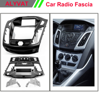 Car DVD Stereo Facia Surround Install Trim Fit 2 DIN Dash Kit For FORD Focus III