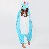 2016 Fashion Adults Flannel Green Purpel Dinosaur Animal Pajamas Hooded Cosplay Unisex Pajamas Sets Party Cute