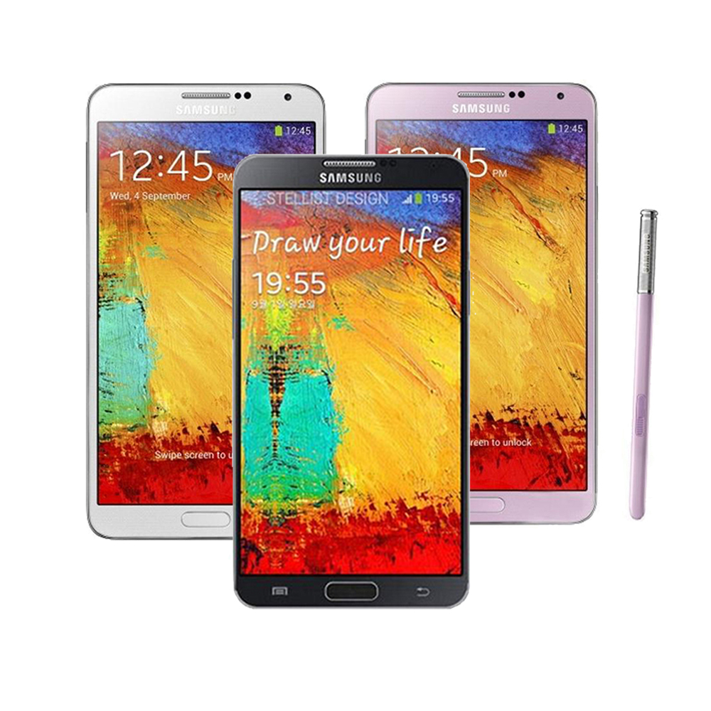 Цена за Оригинальный Samsung Galaxy Note3 Note 3 N9000 N900A N900T Разблокирована мобильный Телефон Quad Core 3 ГБ RAM 5.7 Дюйм(ов) 13MP GPS восстановленное