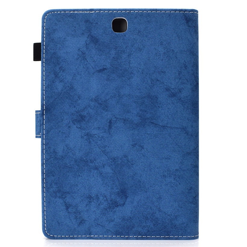 SM-T555 Case For Samsung Galaxy Tab A 9.7 SM-T550 T550 T555 P550 P555 Smart Cover Funda Tablet Protector Stand Shell +Film+Pen