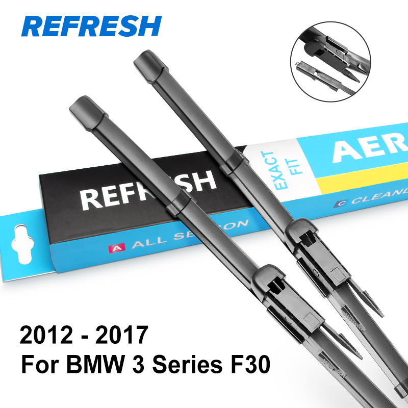 REFRESH Щетки стеклоочистителя для BMW 3 серии E46 E90 E91 E92 E93 F30 F31 F34 316i 318i 320i 323i 325i 328i 330i 335i 318d 320d 330d - Цвет: 2012 - 2017 ( F30 )