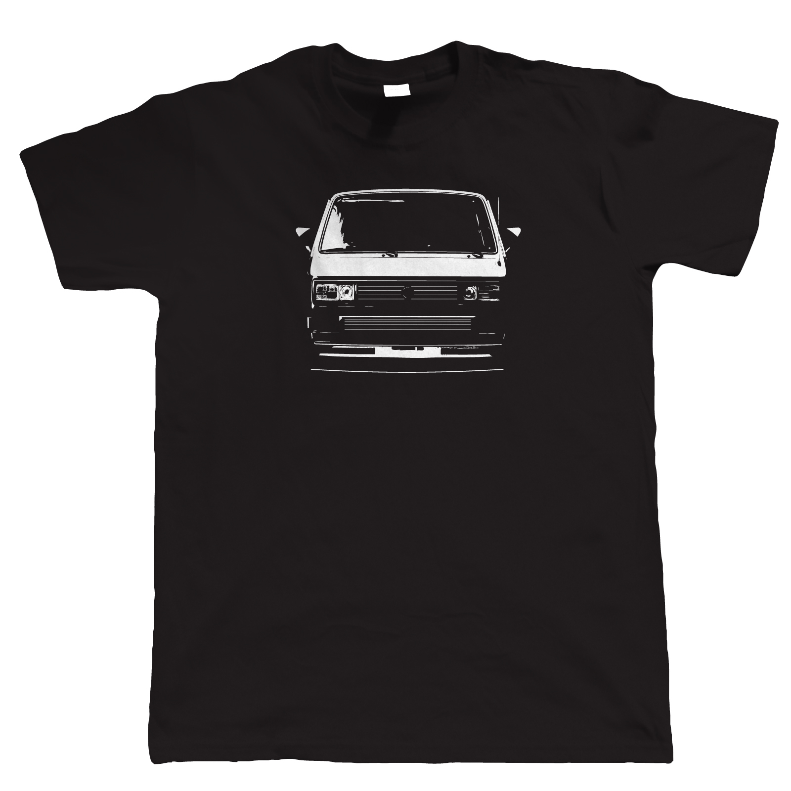 T25 Campervan T Shirt - Gift For Him Dad Doka Bus Caravelle Vanagon Wedge