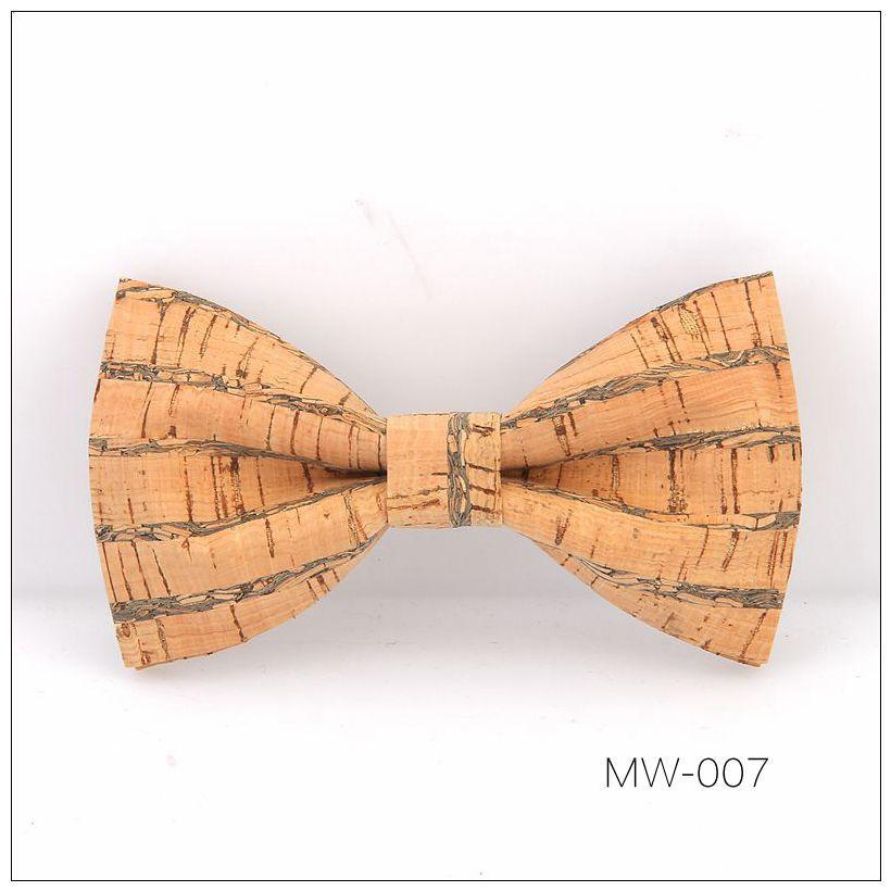 New Handmade Wooden Cork Bamboo Bow Tie Bowtie Men's Cravat 51