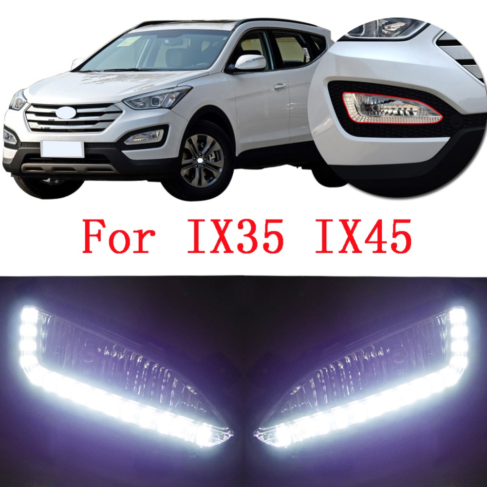 Front Anti-Chocs Right Fog Lights Lamp For Hyundai SANTA FE 2006-2009