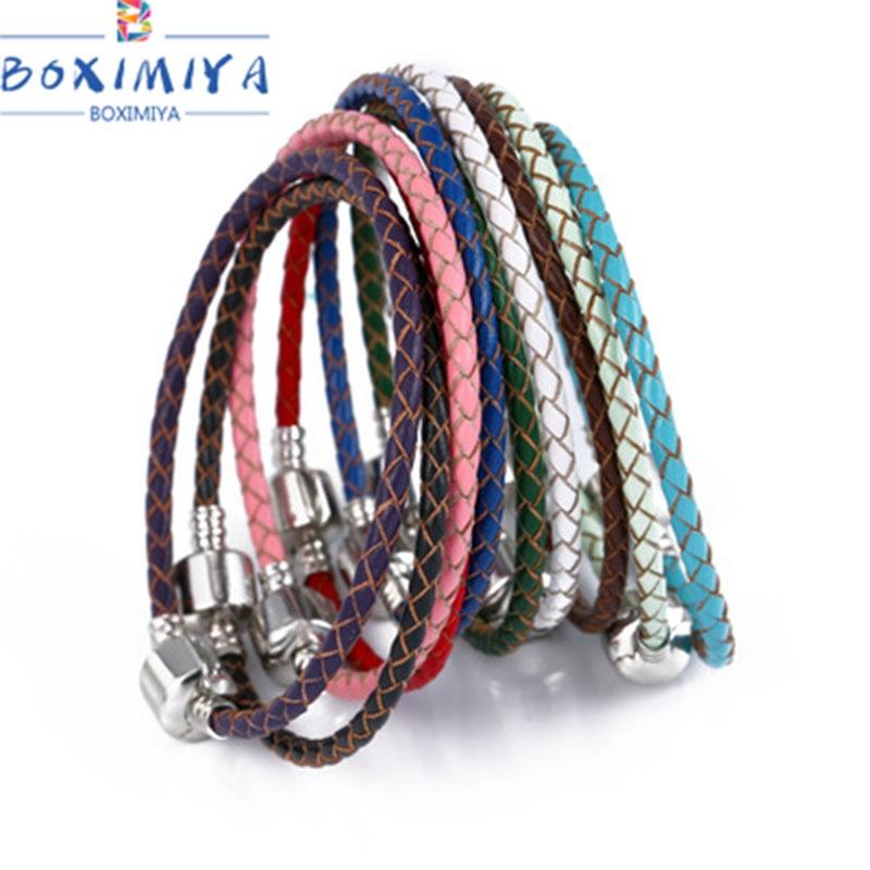 pandora bracelet cuir turquoise
