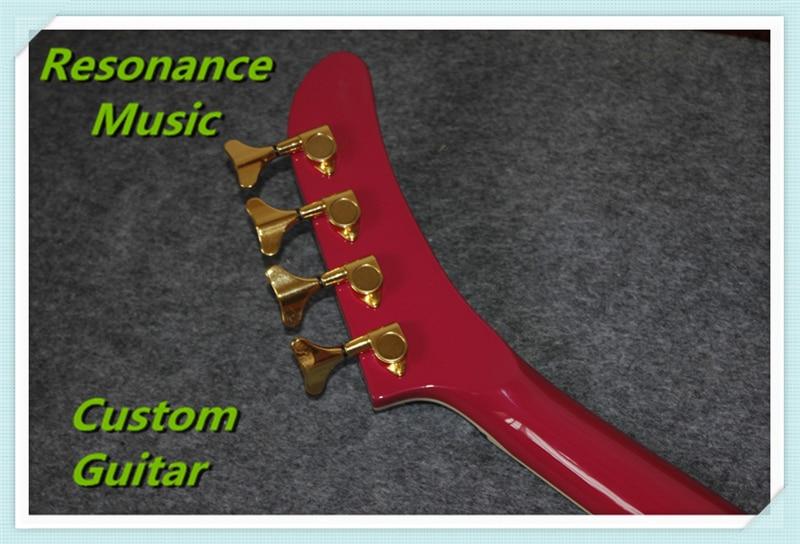 Instruments de musique chinois 4 cordes explorer guitare basse électrique droitier et gaucher tout disponible