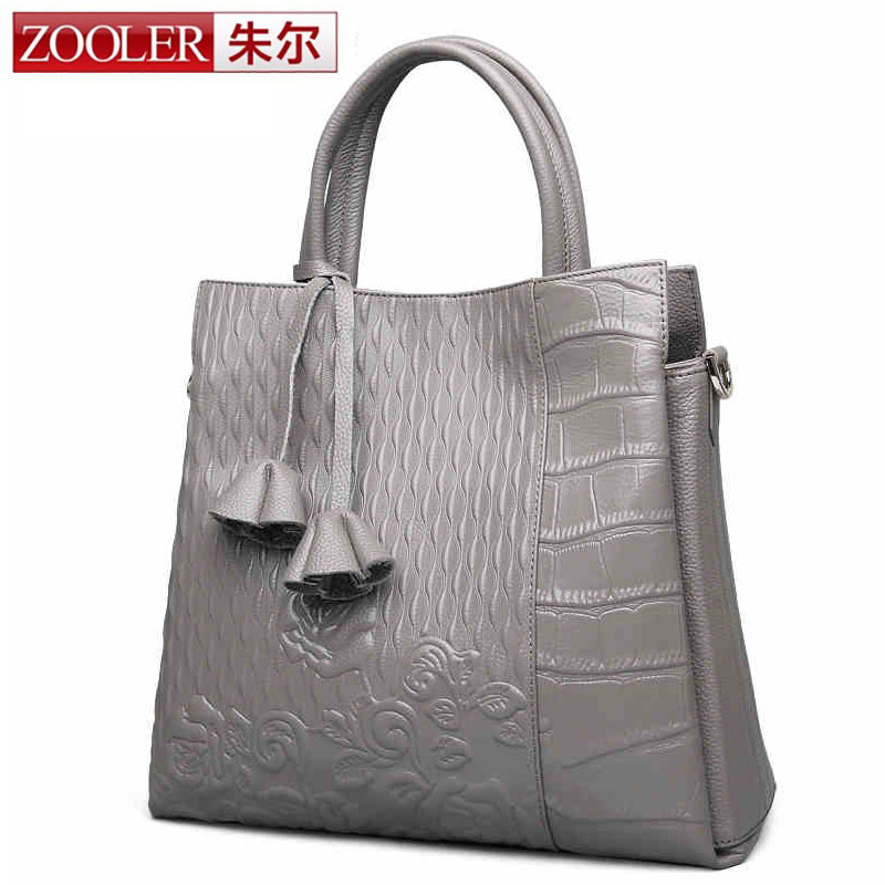 ZOOLER New Fashion Designer Women Handbag Female Genuine Leather Bags Handbags Ladies Shoulder Bag Office Ladies Hobos Bag Totes lafestin luxury shoulder women handbag genuine leather bag 2017 fashion designer totes bags brands women bag bolsa female