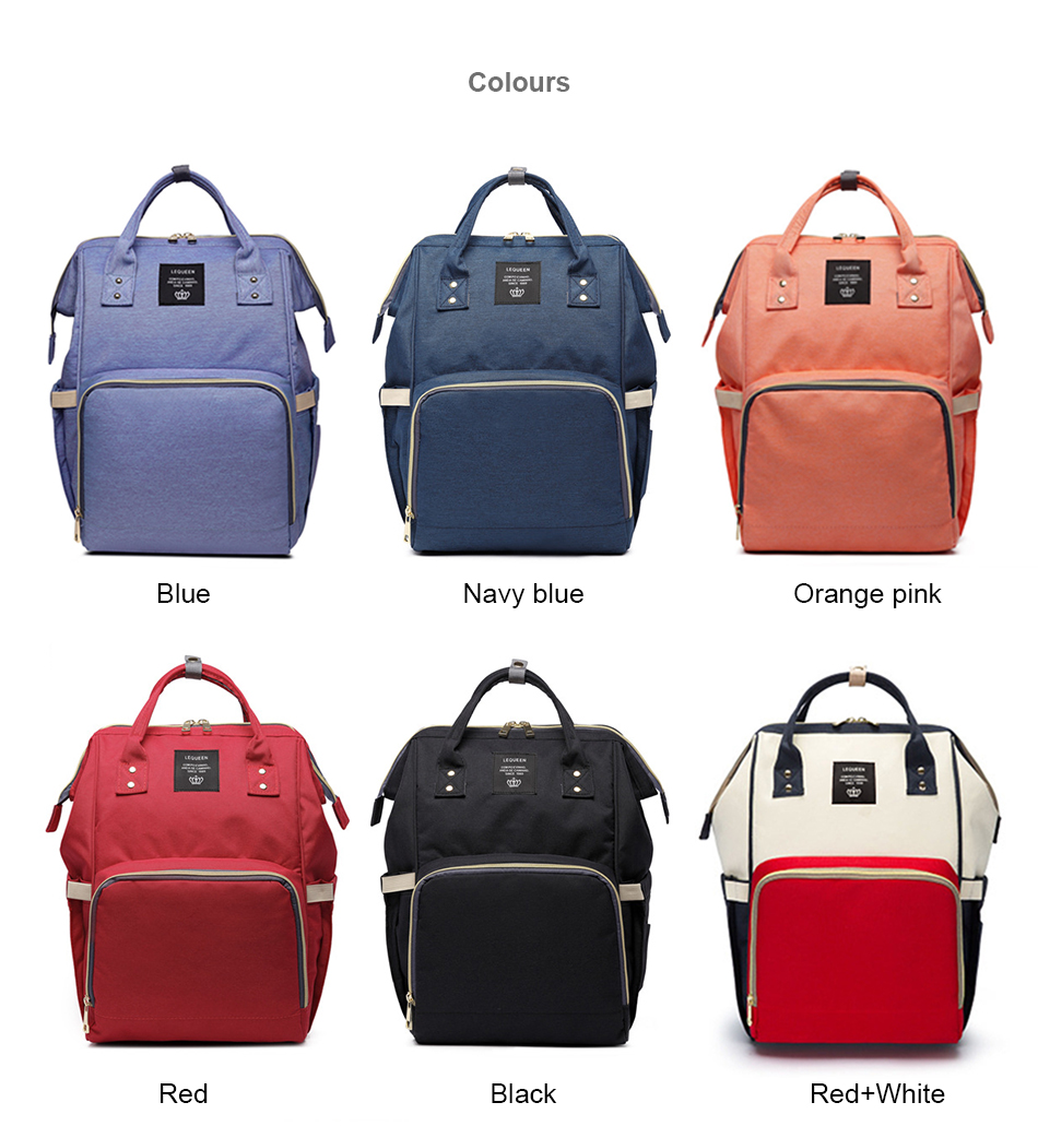 HTB1wRWDSSzqK1RjSZFjq6zlCFXaW Nappy Backpack Bag Mummy Large Capacity Bag Baby Multi-function Waterproof Travel Diaper Bags For Baby Care Droshipping