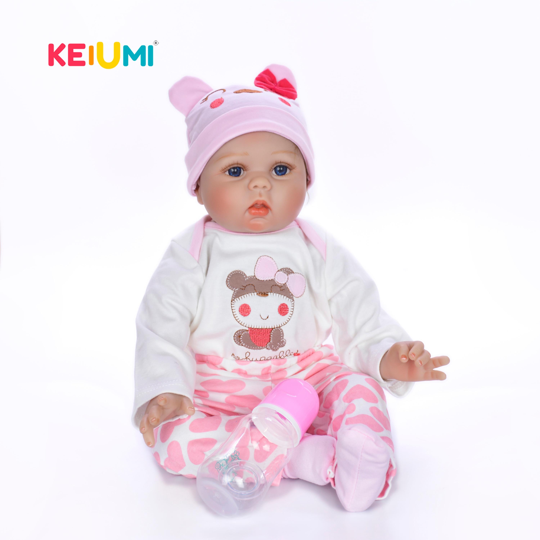 Hurtownie 22 Cal Reborn lalki dla dzieci miękkie silikonowe Baby Girl realistyczne księżniczka zabawki moda Boneca Reborn dla dzieci na dzień prezenty w Lalki od Zabawki i hobby na  Grupa 1